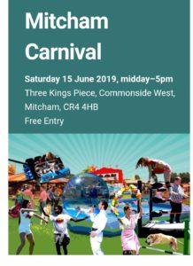 Mitcham Carnival 15th June